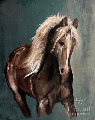 Painting - Mountain Horse Fever by Barbie Batson