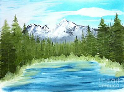 Mountain Imagining Art Print
