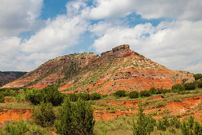 Photograph - Mountain In Palo Duro Canyons by Judy Wright Lott