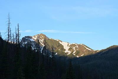Mountain In Rocky Mountian Np Co Art Print
