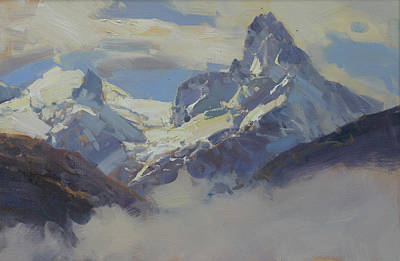 Mountain In The Clouds Original by Alexander Babich