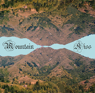 Photograph - Mountain Kiss Enhanced Crop #2 by Ben Upham III