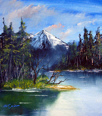 Painting - Mountain Lake by Barry Jones