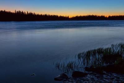 Photograph - Mountain Lake Glow by James BO Insogna