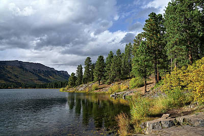 Photograph - Mountain Lake In Autumn by Leda Robertson