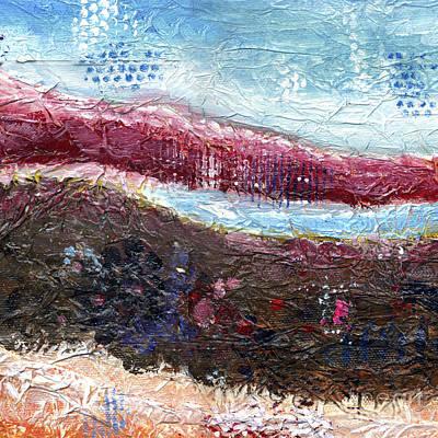 Painting - Mountain Lake by Kim Niles