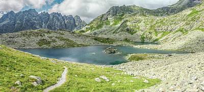 Photograph - Mountain Lake by Martin Capek