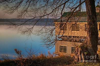 Photograph - Mountain Lake, Ontario by Tatiana Travelways