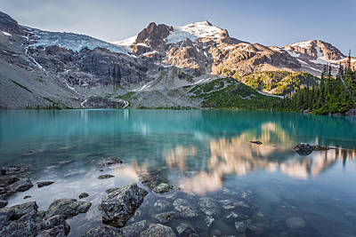 Photograph - Mountain Lake Reflection by Pierre Leclerc Photography