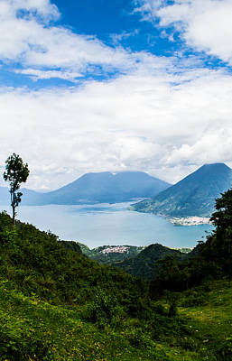 South American Jungle Photograph - Mountain Lake View by Shelby Young