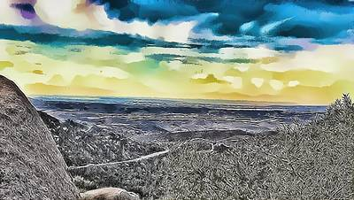 Mountain Landscape 7 Art Print
