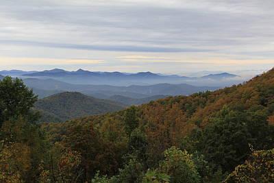 Photograph - Mountain Landscape 9 by Allen Nice-Webb