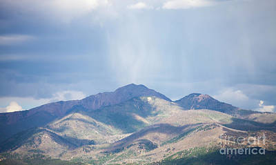 Photograph - Mountain Landscape by Kati Finell