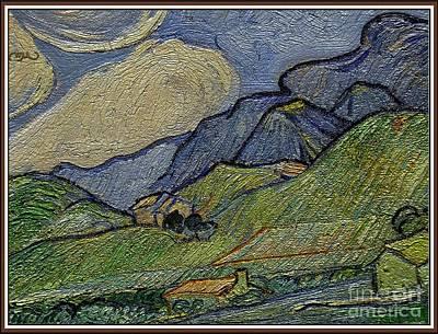 Mountain Landscape Art Print by Pemaro