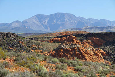 Photograph - Mountain Landscape by Sharon I Williams