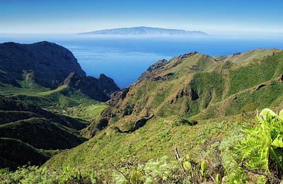 Photograph - Mountain Landscape Tenerife Spain Europe by Matthias Hauser