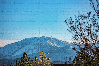 Photograph - Mountain Majestic by Nancy Marie Ricketts