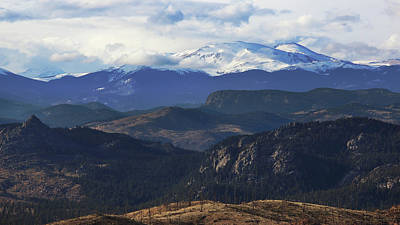 Bierstadt Photograph - Mountain Majesty by Brian Gustafson