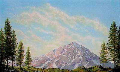 Pacific Crest Trail Painting - Mountain Majesty by Frank Wilson