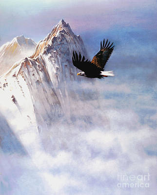 Robert Foster Painting - Mountain Majesty by Robert Foster