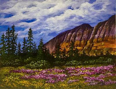 Painting - Mountain Meadow  by Darice Machel McGuire