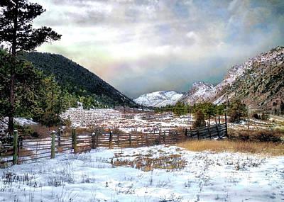 Mountain Meadow Art Print by Jim Hill