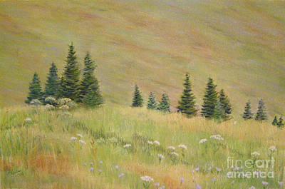 Painting - Mountain Meadow by Lynn Quinn