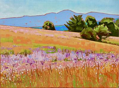Painting - Mountain Meadow by Sarah Gayle Carter