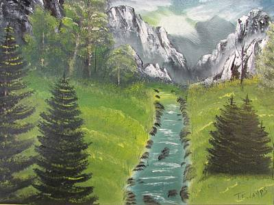 Painting - Mountain Meadow by Thomas Janos