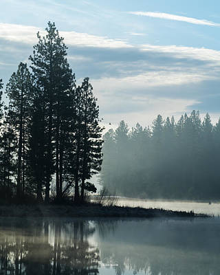Photograph - Mountain Meadows Reservoir At Dawn by The Couso Collection
