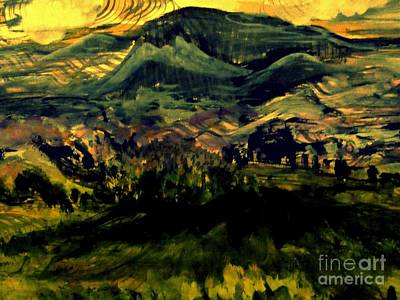 Painting - Mountain Memories by Nancy Kane Chapman