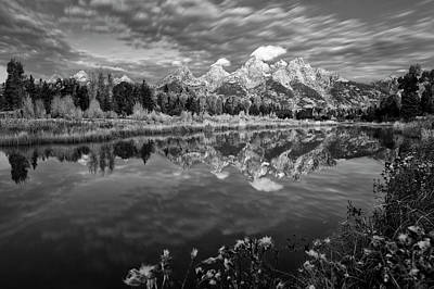 Photograph - Mountain Monochrome by Mike Lang