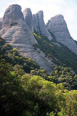 Mountain Montserrat Art Print