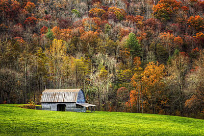 Charming Cottage Photograph - Mountain Mood by Debra and Dave Vanderlaan
