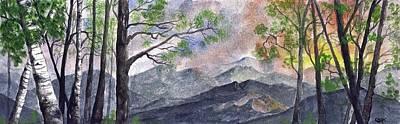 Digital Art - Mountain Morning by Terry Cork