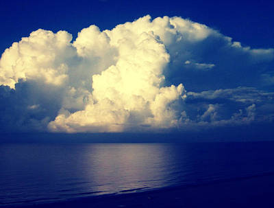 Photograph - Mountain Of A Cloud by Betsy Jones