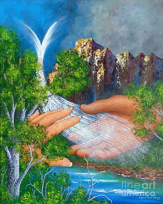 Wall Art - Painting - Mountain Of Hope by Lynn Zuk-Lloyd