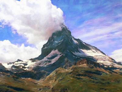 Photograph - Mountain Of Mountains  by Connie Handscomb