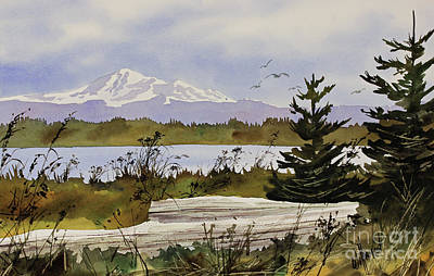 Williamson County Painting - Mountain Outlook by James Williamson