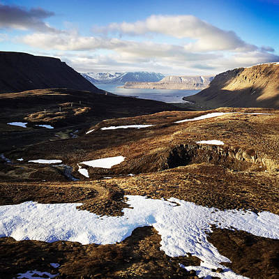 Mountain Photograph - Mountain Pass In Iceland by Matthias Hauser
