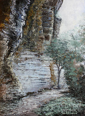 Tn Painting - Mountain Pass by Todd A Blanchard