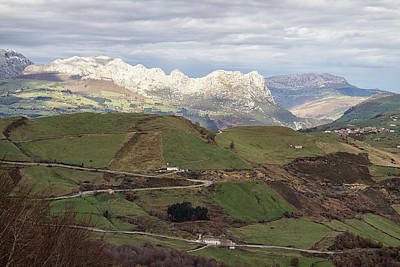 Photograph - Mountain Passes Of Cantabria by Shirley Mitchell
