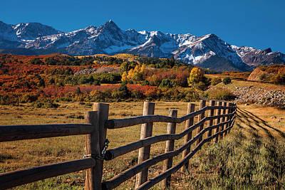 Mountain Photograph - Mountain Pastures by Andrew Soundarajan