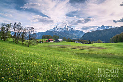 Photograph - Mountain Pastures by JR Photography