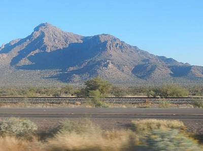 Photograph - Mountain Peak In Tucson, Arizona by Mozelle Beigel Martin