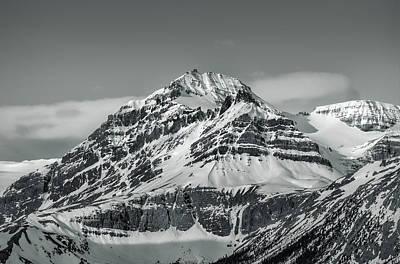 Mountain Peak Original by Yves Gagnon