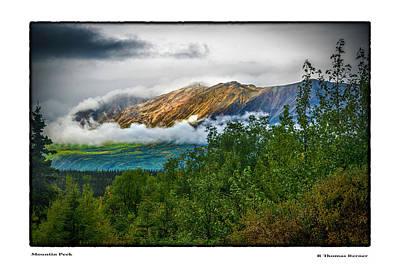 Photograph - Mountain Peek by R Thomas Berner