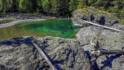 Photograph - Mountain Pool, Glacier National Park by Marilyn Burton