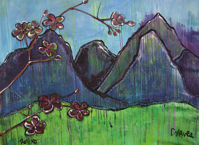 Painting - Mountain Pose by Laurie Maves ART