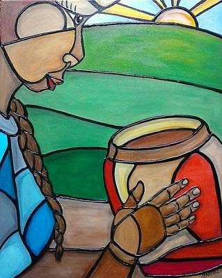 Painting - Mountain Potter by Jenny Pickens